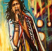 Steven Tyler Painting Prints - Tyler Print by Kimberly Dawn Clayton