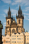 Czech Republik Prints - Tyn Church - Old Town of Prague - Czech Republic Print by Matthias Hauser