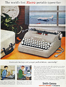 Typewriter Photos - Typewriter Ad, 1957 by Granger