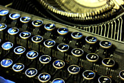 Typewriter Keys Photos - Typewriter I by Aleesha D Kelly