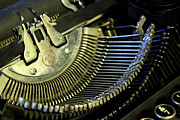 Typewriter Keys Photos - Typewriter II by Aleesha D Kelly