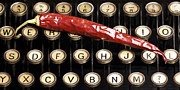 Antik Prints - Typewriter keys XT Print by Falko Follert