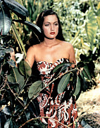 1940 Movies Framed Prints - Typhoon, Dorothy Lamour, 1940 Framed Print by Everett
