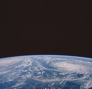 Typhoons Odessa And Pat, Seen Print by NASA / Science Source