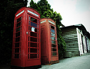Telephone Photos - Typical of London by David Cucalon