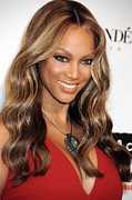 Benefit Posters - Tyra Banks At Arrivals For Keep A Child Poster by Everett
