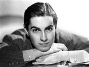 Pinstripe Suit Posters - Tyrone Power, 20th Century-fox, 1937 Poster by Everett