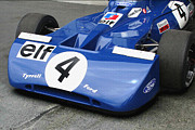 F-1 Digital Art - Tyrrell 004 1971 Front Jackie Stewart by Curt Johnson