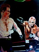 Boxer Paintings - Tyson by Colin O neill
