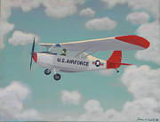 Fathers Paintings - U S Air Force  by James Violett II