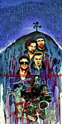 U2 Painting Metal Prints - U2 Metal Print by Ken Meyer jr