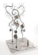 Celebrities Sculpture Originals - Ubiquitous Trio by Idelle Okman Tyzbir