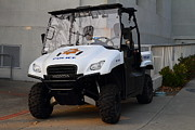 College Campus Photos - UC Berkeley Campus Police Buggy  . 7D10184 by Wingsdomain Art and Photography