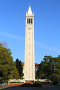 Schools Metal Prints - UC Berkeley . Sather Tower . The Campanile . 7D10050 Metal Print by Wingsdomain Art and Photography