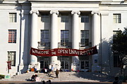 Uc Berkeley . Sproul Hall . Sproul Plaza . Occupy Uc Berkeley . 7d9991 Print by Wingsdomain Art and Photography