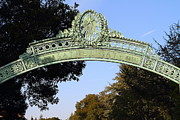 College Campuses Metal Prints - UC Berkeley . Sproul Plaza . Sather Gate . 7D10031 Metal Print by Wingsdomain Art and Photography