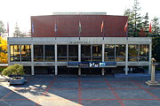 University Of California Art - UC Berkeley . Zellerbach Hall . 7D10012 by Wingsdomain Art and Photography