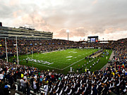 Huskies Photo Posters - UConn Rentschler Field Poster by University of Connecticut