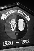 Loyalist Prints - Udr Loyalist Wall Mural Belfast Print by Joe Fox