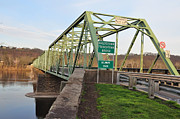 Steal Prints - Uhlerstown Frenchtown Bridge Print by Bill Cannon