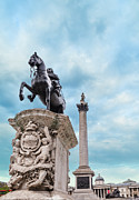Town Square Prints - Uk, London, Trafalgar Square Print by Tetra Images