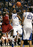 Razorbacks Photos - UK v Arkansas - 1 by Mark Boxley