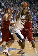 Razorbacks Photos - UK v Arkansas - 15 by Mark Boxley