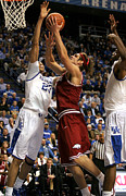 Razorbacks Photos - UK v Arkansas - 3 by Mark Boxley