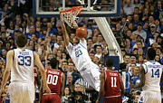 Razorbacks Photos - UK v Arkansas - 5 by Mark Boxley