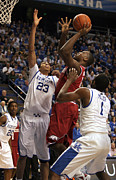 Razorbacks Photos - UK v Arkansas - 9 by Mark Boxley