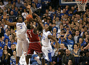 Razorbacks Photos - UK vs Arkansas - 13 by Mark Boxley