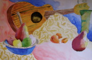 Ukelele Framed Prints - Ukelele Framed Print by Beverley Harper Tinsley