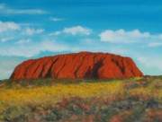 Alice Photo Originals - Ulluru   Ayers Rock by Nigel Necklen