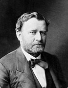 General Ulysses Grant Framed Prints - Ulysses S Grant - President of the United States of America Framed Print by International  Images