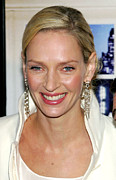 Gregorio Binuya Framed Prints - Uma Thurman At Arrivals For The Framed Print by Everett