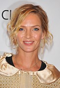 Messy Updo Photo Posters - Uma Thurman In Attendance For Friars Poster by Everett