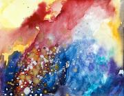 Burst Painting Prints - Unabashed Print by Tara Thelen - Printscapes