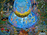 Visionary Art Painting Originals - Unai Shipash  by Pablo Amaringo