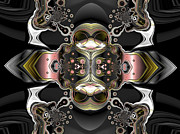 """generative Abstract"" Framed Prints - Uncertain committments Framed Print by Claude McCoy"