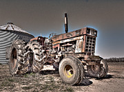 Mechanics Photo Originals - Uncle Carlys Tractor by William Fields