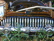 Buick Paintings - Uncle Eddies Buick by Michael Jacques