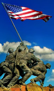 Washington D.c. Digital Art Metal Prints - Uncommon Valor Metal Print by Don Lovett