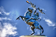 Florida State Originals - Unconquered Chief Osceola and Renegade by Frank Feliciano