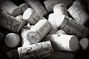 Wine Corks Prints - Uncorked Print by Georgia Fowler