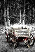 Schooner Framed Prints - Uncovered Wagon Framed Print by Al Bourassa