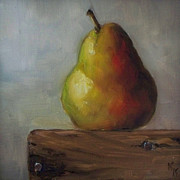 Kristine Prints - Uncrated Pear Print by Kristine Kainer
