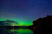 Northern Minnesota Prints - Under an Alien Sky Print by Adam Pender
