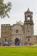 Goliad Texas Posters - Under Construction Poster by Kim Henderson