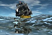 Seas Digital Art - Under full sail by Claude McCoy