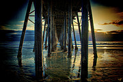 Under The Boardwalk Print by Chris Lord